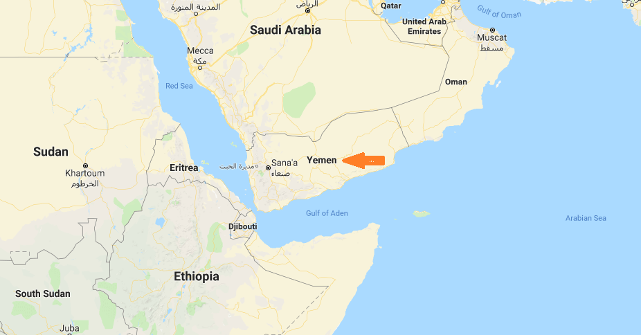 Where Is Yemen Located On The World Map Where Is Map