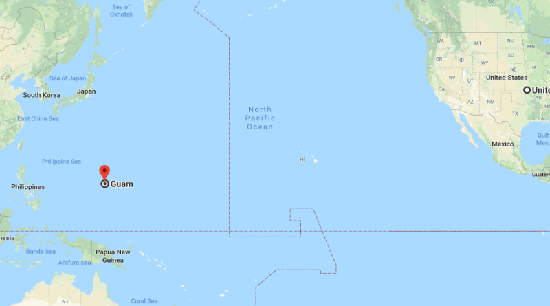 Where is Guam? Located On The Map | Where is Map