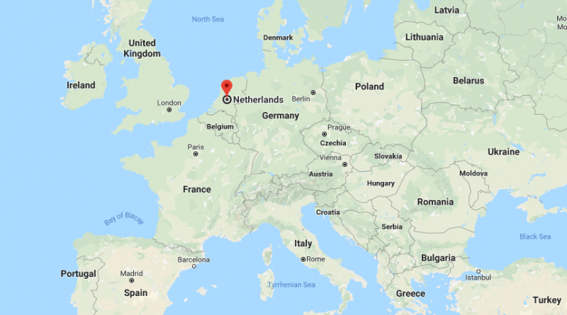 Where is Holland? Located On The World Map | Where is Map