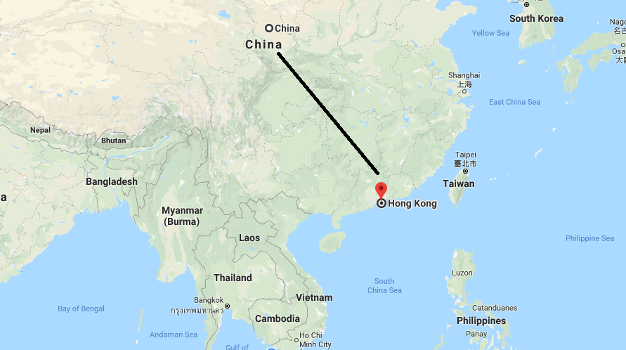 Where is hong kong on a map in china where is map pictures of hong kong gumiabroncs Images