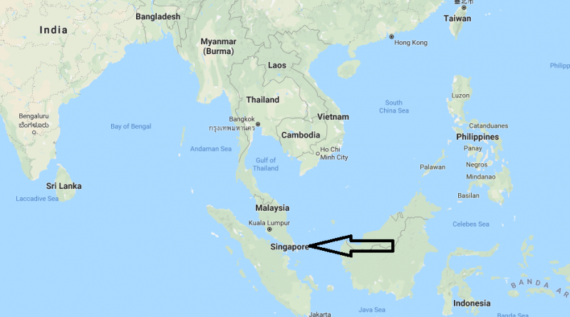 Where is singapore located on the world map where is map singapore countries gumiabroncs