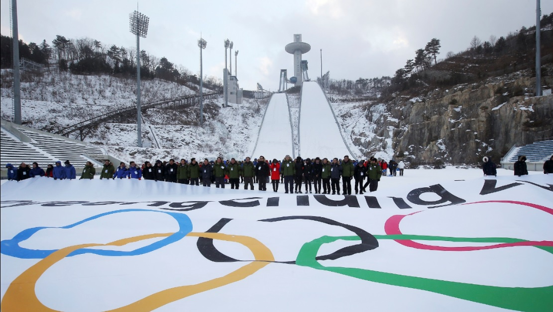 Where are the 2018 Winter Olympics