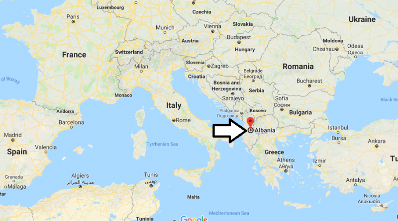 Where Is Albania Where Is Albania Located In The World Where