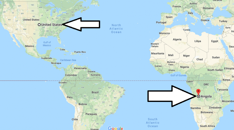 Where is Angola - Where is Angola Located in The World - Angola Map