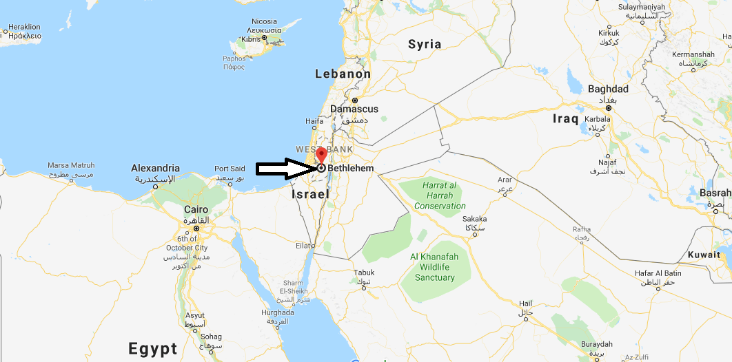 Where is Bethlehem Located in the Middle East