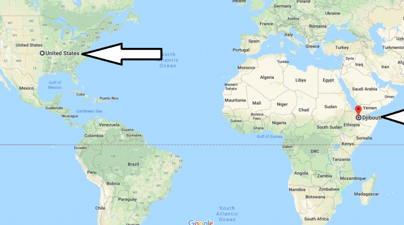 Where is Djibouti - Where is Djibouti Located in The World - Djibouti Map