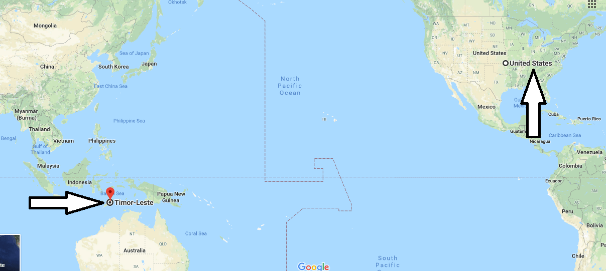 Where is East Timor Located On the World Map