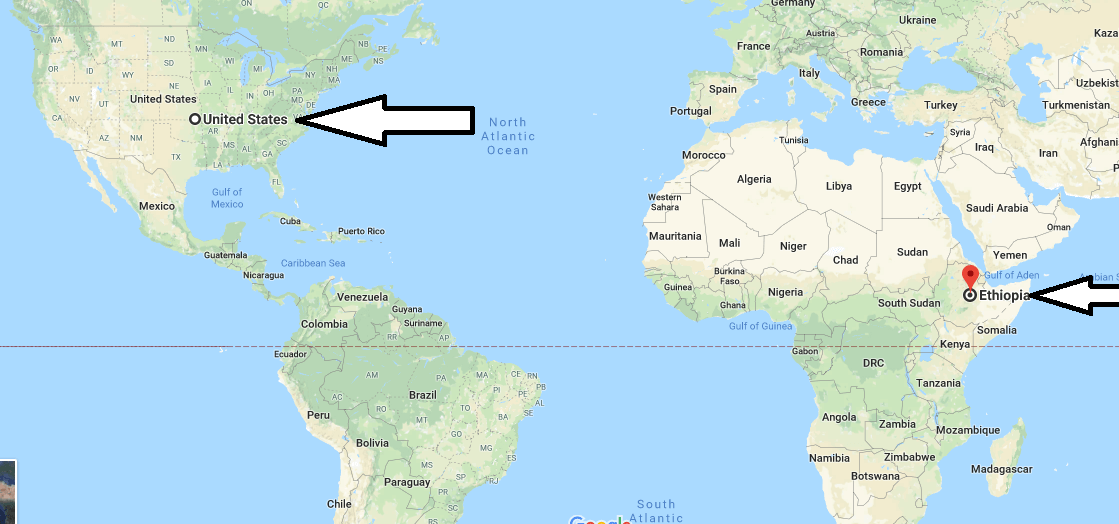 Where is Ethiopia - Where is Ethiopia Located in The World - Ethiopia Map