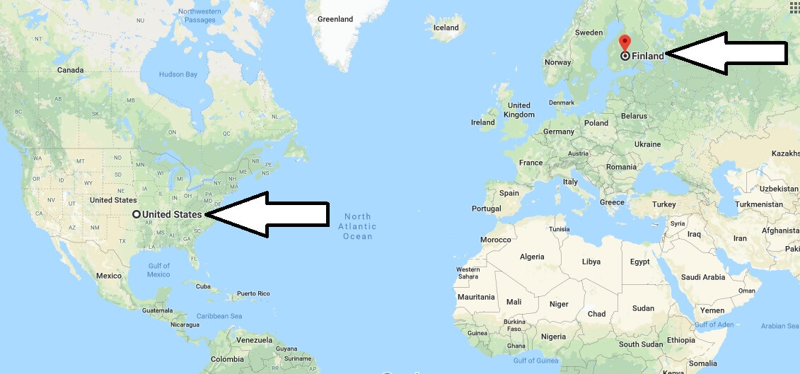 Where is Finland - Where is Finland Located in The World - Finland Map