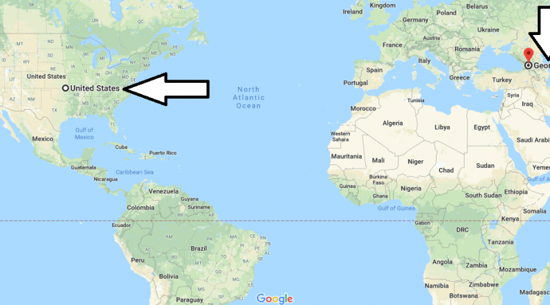 Where is Georgia - Where is Georgia Located in The World - Georgia Map