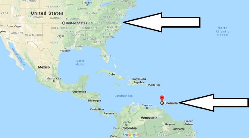 Where is Grenada - Where is Grenada Located in The World - Grenada Map