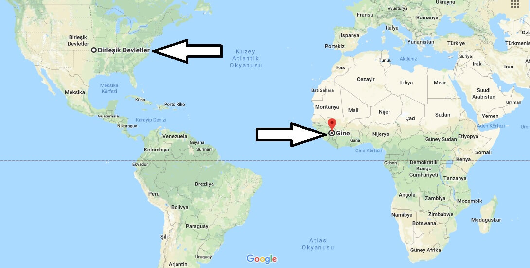 Where is Guinea - Where is Guinea Located in The World - Guinea Map