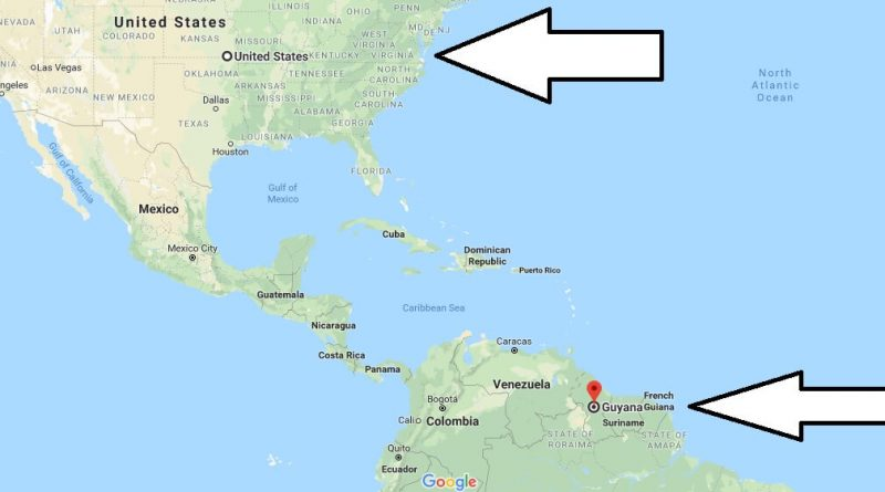 Where Is Guyana Located On The World Map.Where Is Guyana Located In The World Guyana Map Where Is Map