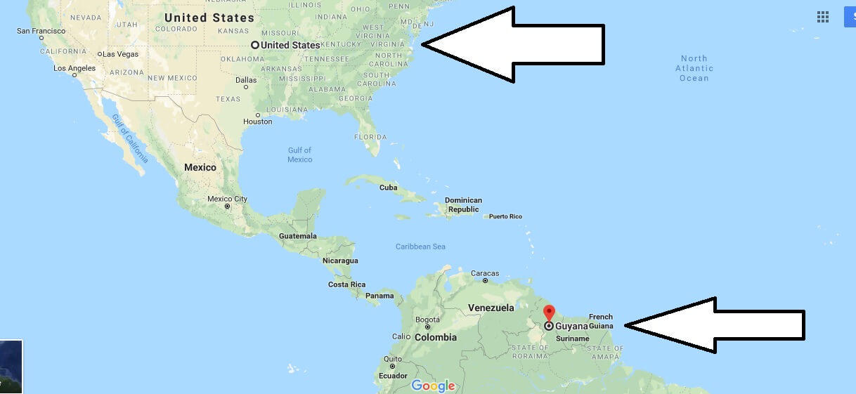 Where is Guyana - Where is Guyana Located in The World - Guyana Map