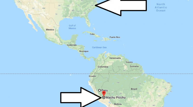 Where is Machu Picchu Located On The Map