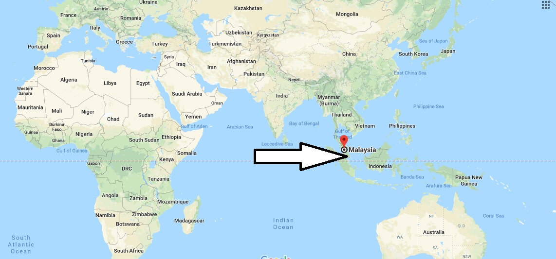 Where is Malaysia - Where is Malaysia Located in The World - Malaysia Map