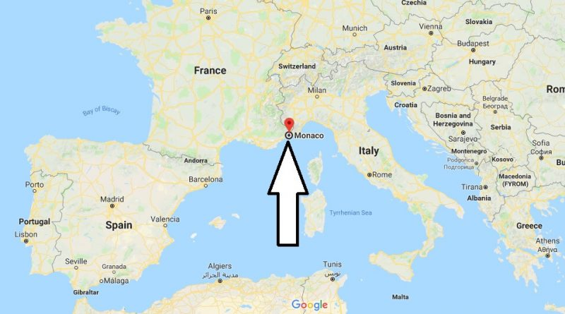 Where is Monaco - Where is Monaco Located in The World - Monaco Map