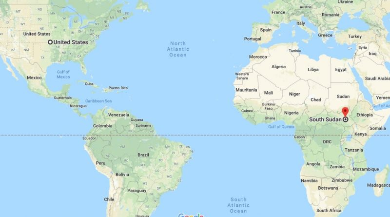 Where is South Sudan - Where is South Sudan Located in The World - South Sudan Map