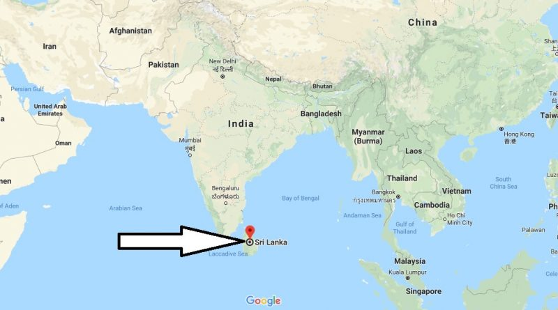 Where Is Sri Lanka Located In The World Sri Lanka Map Where Is Map
