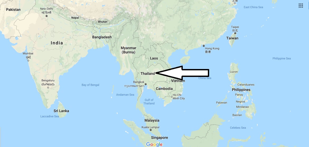 Where is Thailand? / Where is Thailand Located in The World? / Thailand Map