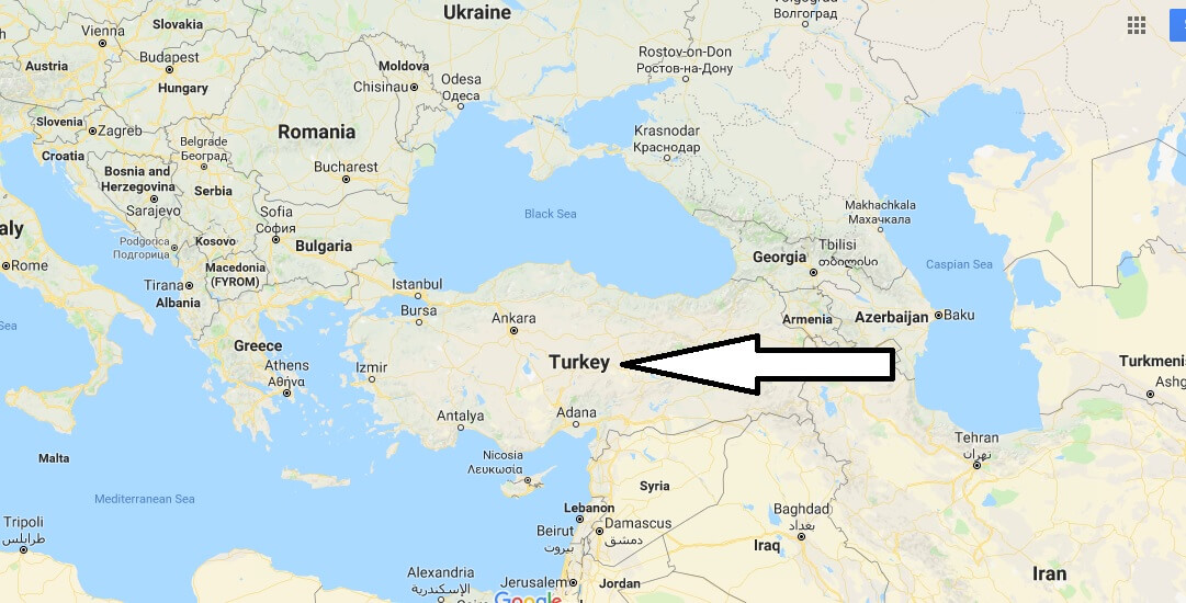Where is Turkey - Where is Turkey Located in The World - Turkey Map