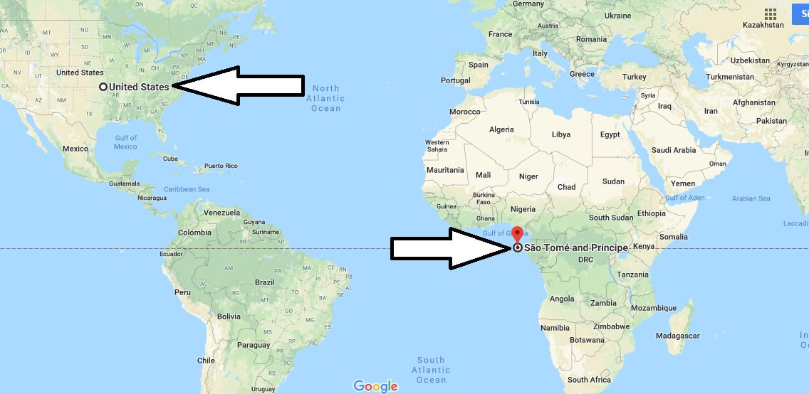 Where, What country and continent is Sao Tome and Principe