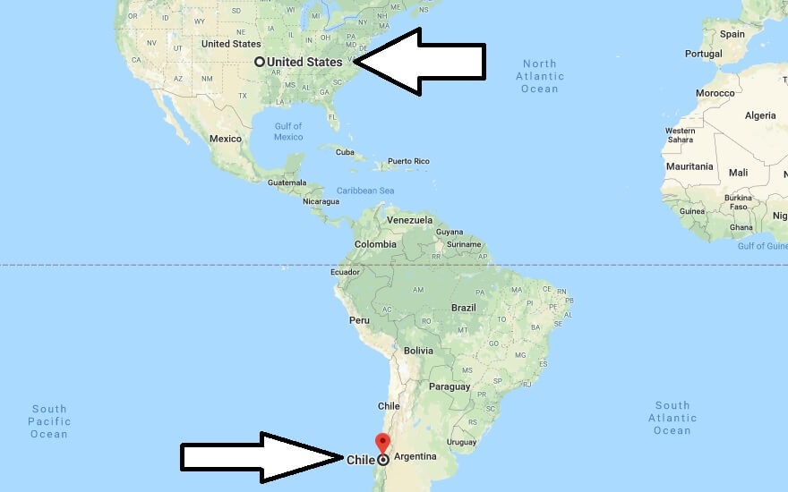 Where is Chile - Where is Chile Located in The World - Chile Map