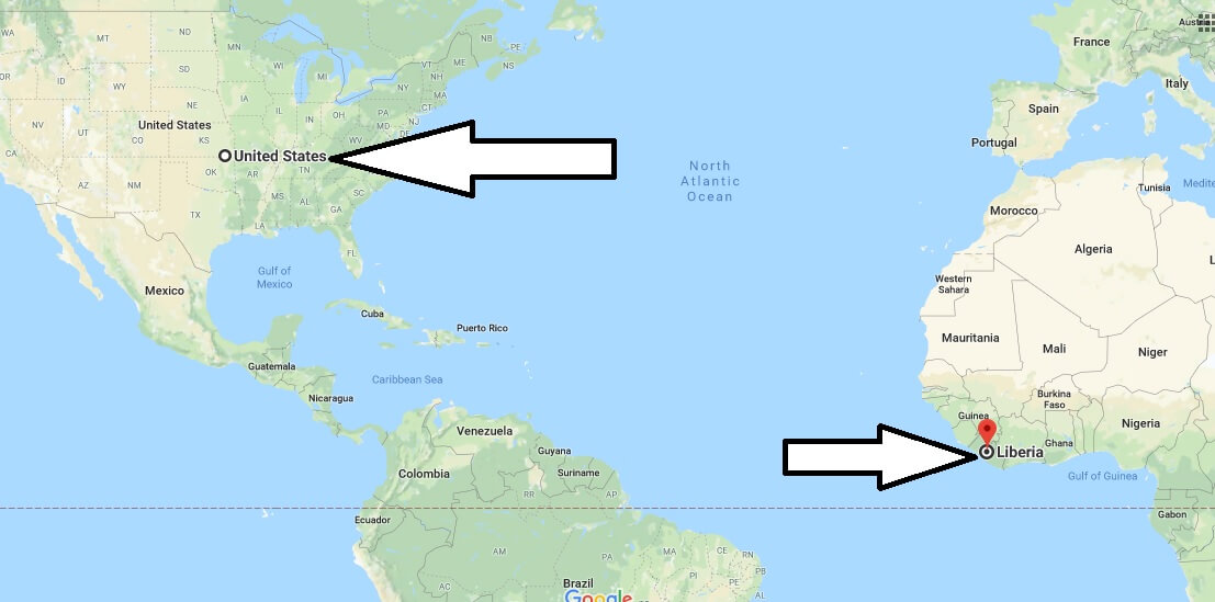 Where is Liberia - Where is Liberia Located in The World - Liberia Map