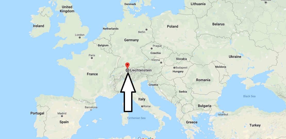 Where is Liechtenstein - Where is Liechtenstein Located in The World - Liechtenstein Map