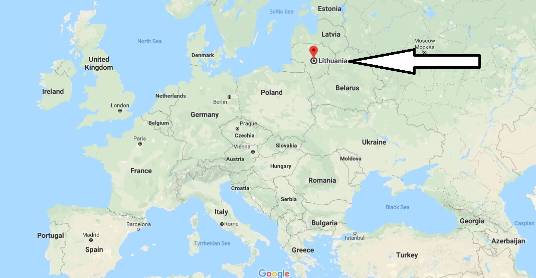 Where is Lithuania - Where is Lithuania Located in The World - Lithuania Map