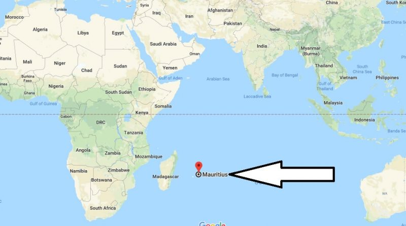 Where is Mauritius? / Where is Mauritius Located in The World