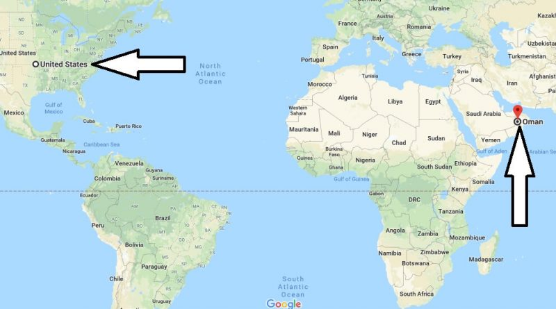 Where is Oman - Where is Oman Located in The World - Oman Map