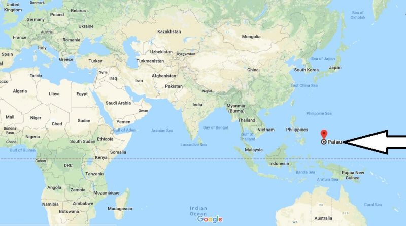 Where is Palau - Where is Palau Located in The World - Palau Map