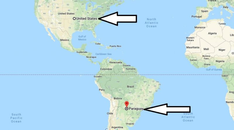 Where is Paraguay - Where is Paraguay Located in The World - Paraguay Map