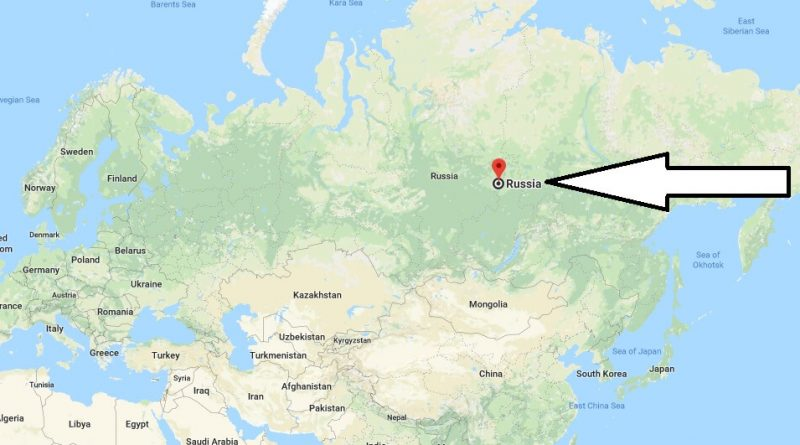 Where is Russia - Where is Russia Located in The World - Russia Map