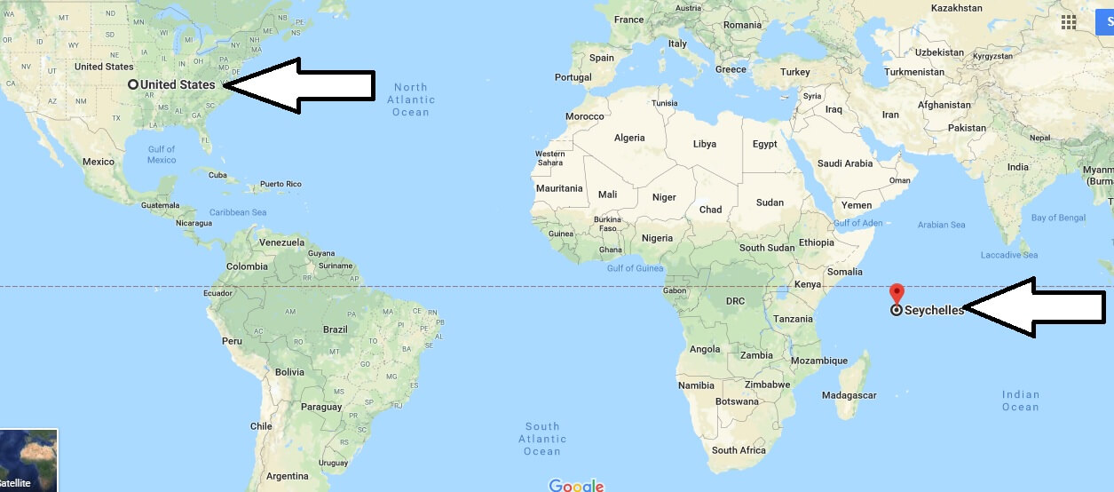 Where is Seychelles - What Country and Continent is Seychelles