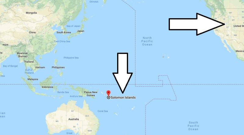 Where is Solomon Islands - Where is Solomon Islands Located in The World - Solomon Islands Map