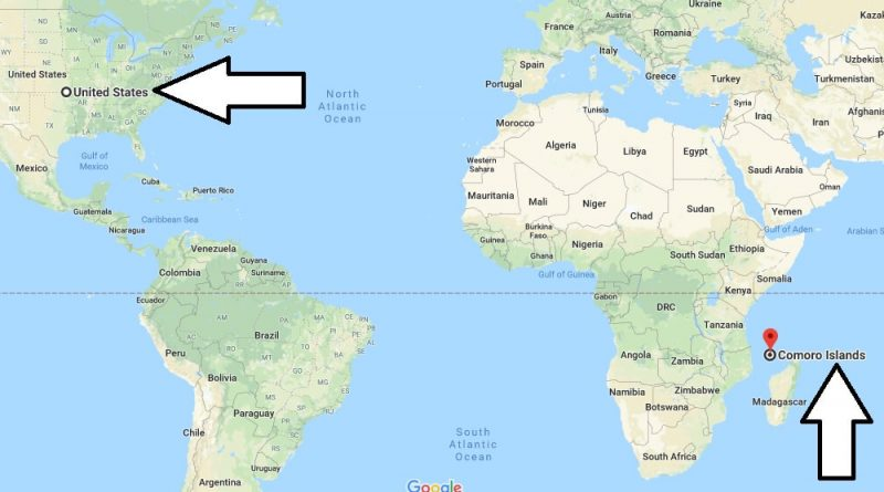 Where is The Comoros - Where is The Comoros Located in The World - The Comoros Map