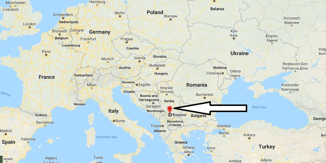 Where is The Kosovo - Where is The Kosovo Located in The World - Kosovo Map