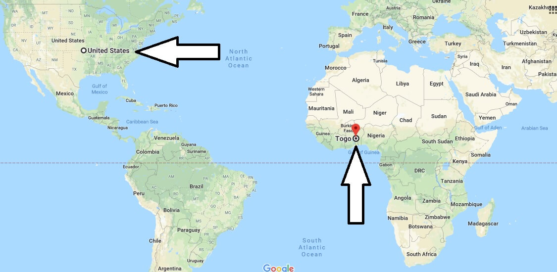 Where is Togo - Where is Togo Located in The World - Togo Map
