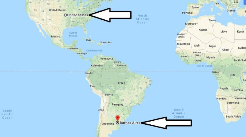 Where is Buenos Aires - What Country is Buenos Aires in - Buenos Aires Map