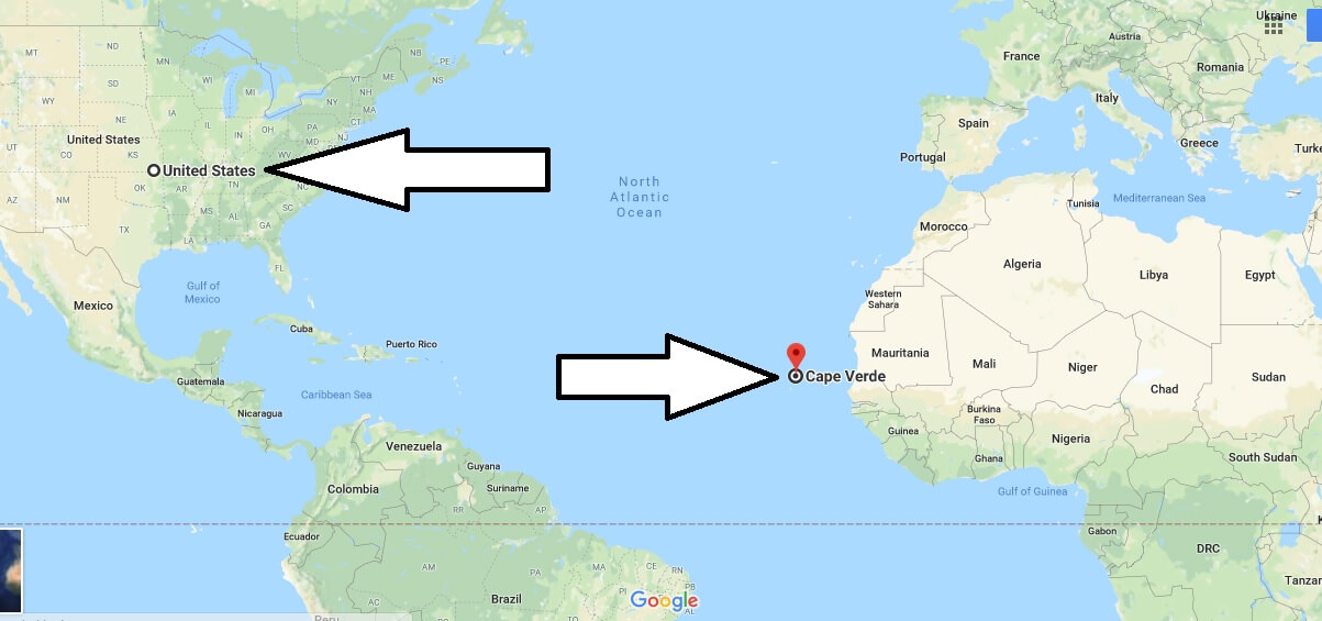 Where is Cape Verde - What Country and Continent is Cape Verde