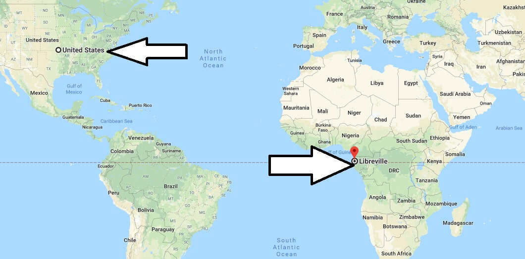 Where is Libreville - What Country is Libreville in - Libreville Map