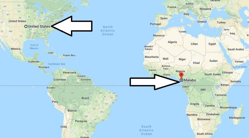 Where is Malabo - What Country is Malabo in - Malabo Map