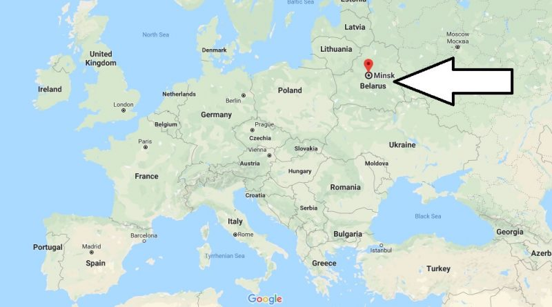 Where is Minsk - What Country is Minsk in - Minsk Map