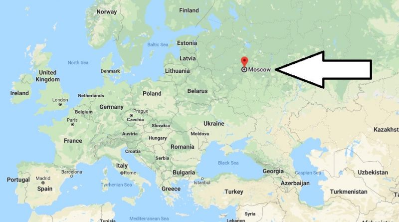 Where is Moscow? What Country is Moscow in? Moscow Map | Where is Map