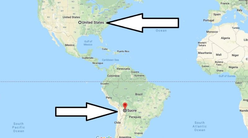 Where is Sucre - What Country is Sucre in - Sucre Map