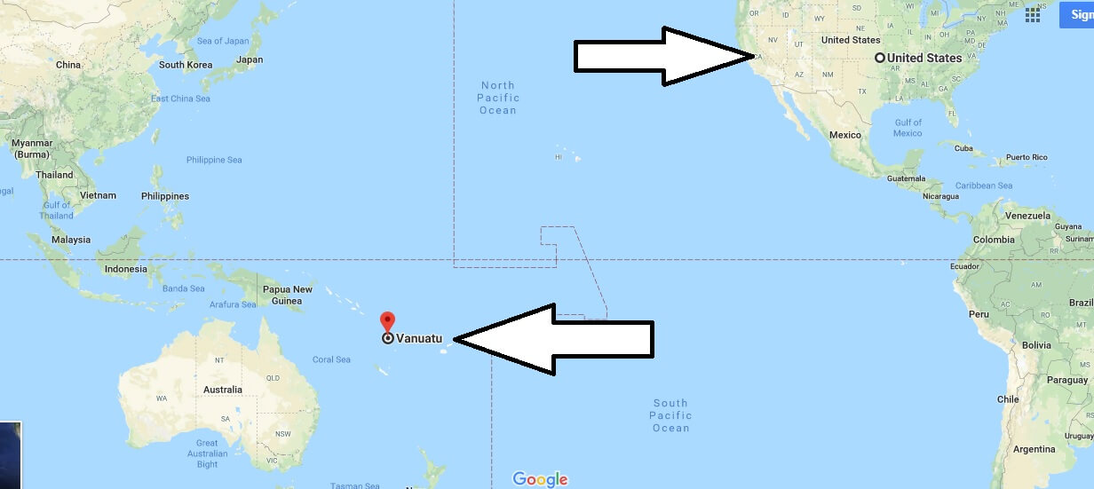 Where is Vanuatu - What Country and Continent is Vanuatu