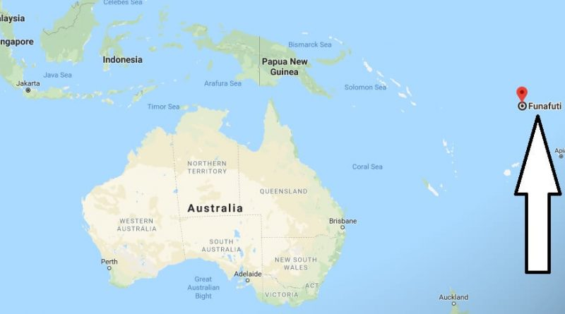Where is Funafuti - What Country is Funafuti in - Funafuti Map