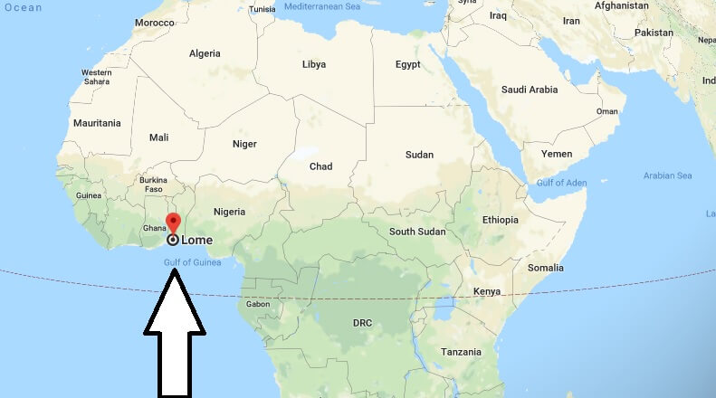 Where is Lome - What Country is Lome in - Lome Map